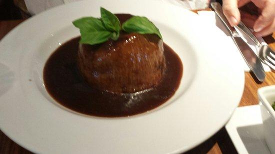 Fresh: Steak & ale pudding perfection.