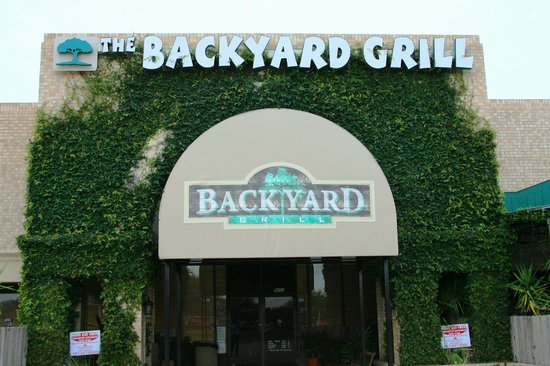 The Backyard Grill Houston come on in - picture of the backyard grill, houston - tripadvisor