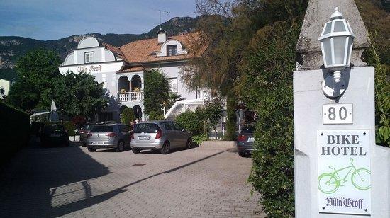 Hotel Villa Groff : Entrance Villa Groff