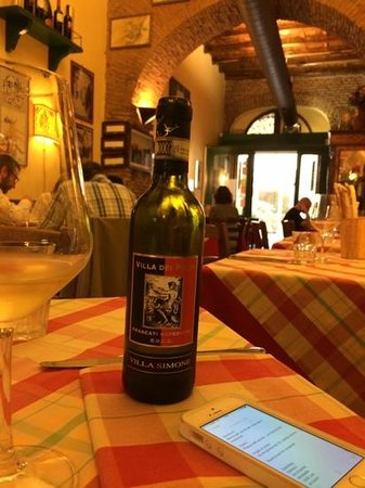 La Taverna dei Fori Imperiali : small bottle for small price, but full of taste