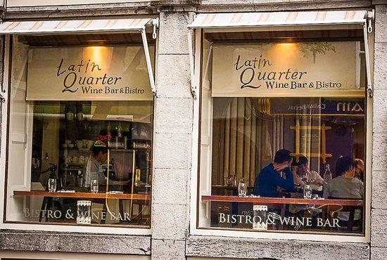 The Latin Quarter Bistro: Outside