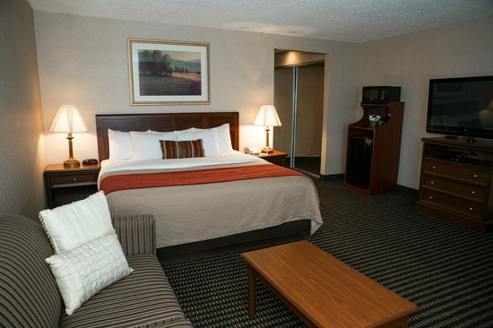 Comfort Inn Utica: King Accommodation