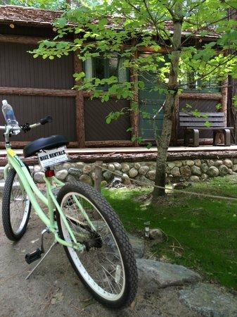 Half Dome Village: Cabin 5B with rental bike