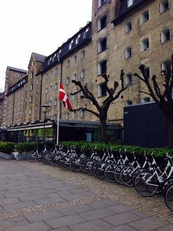 Copenhagen Admiral Hotel : Bicicletas do hotel