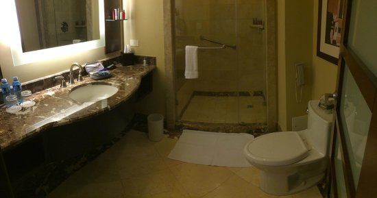 Panama Marriott Hotel: Baño