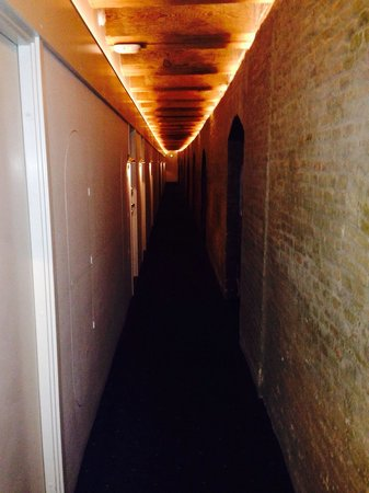 Copenhagen Admiral Hotel: Corredor para os quartos