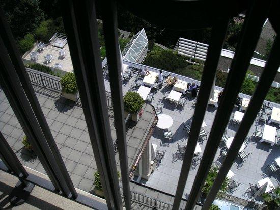 Art Deco Hotel Montana Luzern : Terrasse