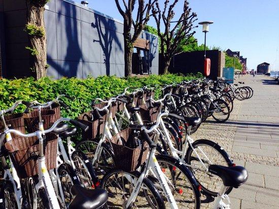 Copenhagen Admiral Hotel: Bicicletas