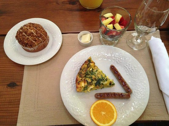 Cottonwood Inn : Another of my lovely breakfasts. So tasty!