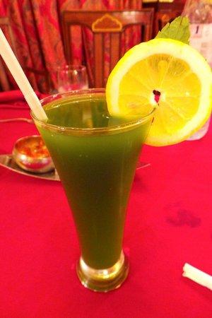 Royal Tandoor: Mint cooler: delicious!