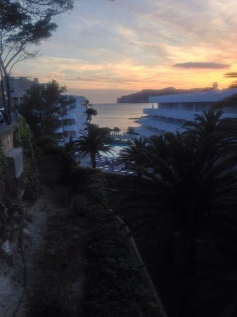 FERGUS Style Cala Blanca Suites: Sunset 15th May 2014
