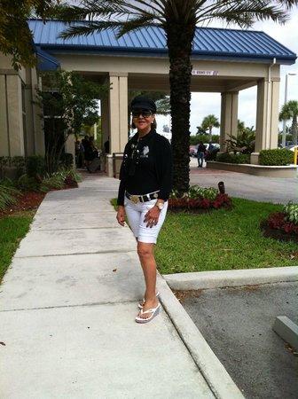 Hilton Garden Inn Miami Airport West: entrada para recepção