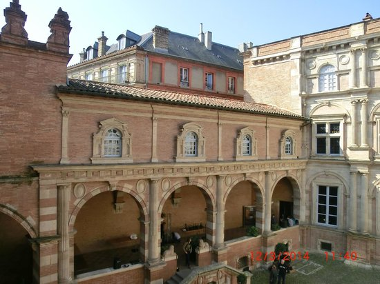 Fondation Bemberg : gli interni