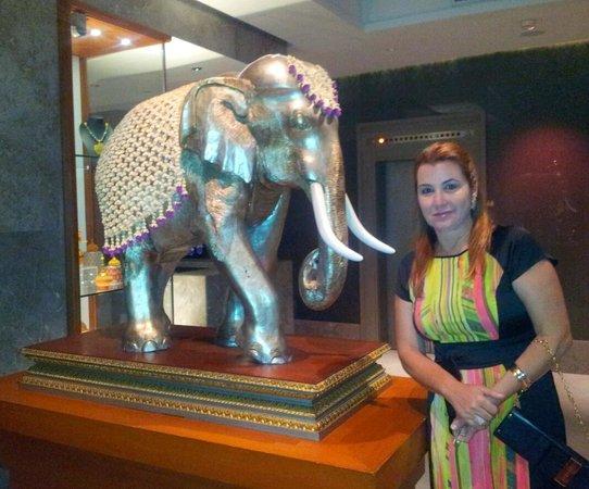 Mandarin Oriental, Bangkok : Elefante simbolo da Tailandia no Mandarin