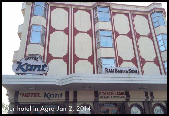 Hotel Kant: Hotel front entrance