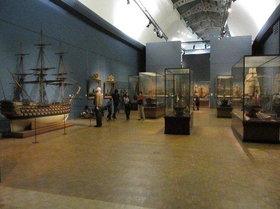 Musée de la Marine : Museum interior - more men of war models