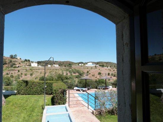Herdade da Corte: view from room 3