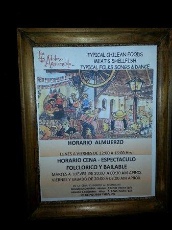 Los Adobes De Argomedo: Poster Ad