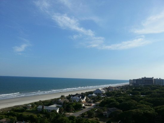 Marriott's OceanWatch Villas at Grande Dunes: Room View of Myrtle Beach