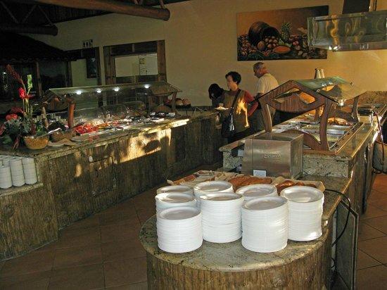 Los Lagos Hotel Spa & Resort : Sehr ordentliches Frühstücksbüffet