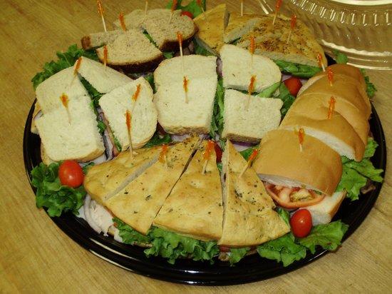 Hudson Bagel & Coffee Co.: Sandwich Platter