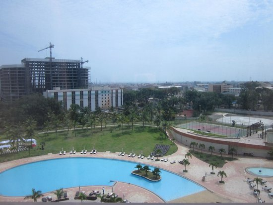 Movenpick Ambassador Hotel Accra: View from the room