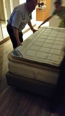 NH Collection Bogota Royal Teleport: Wood Mattress