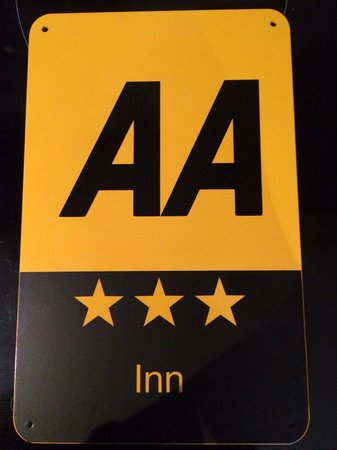 The Red Lion: We are now officially 3 star rated by the AA
