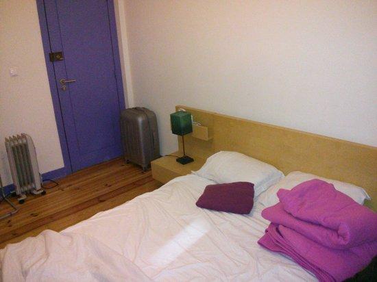 Sweet Home Hospedagem Hostel: Dormitorio