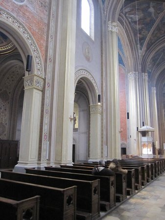 Ludwigskirche: Vista parcial del interior