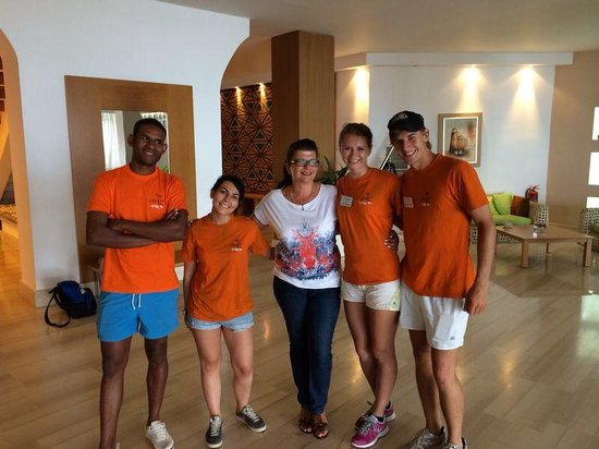 TUI Sensimar Lindos Bay Resort & Spa: The Animation-Team,Lindos Bay