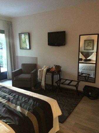 Hotel Le Vallon de Valrugues & Spa : Chambre