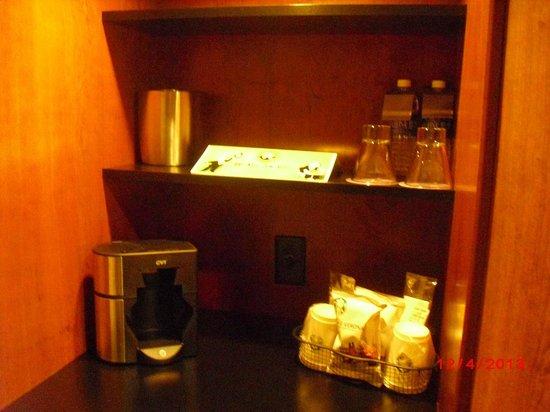 Hyatt Regency Houston: Coffee area