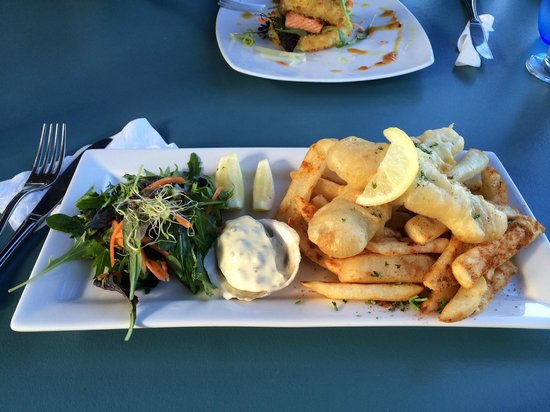 Drunken Sailor Cafe: Blue Cod