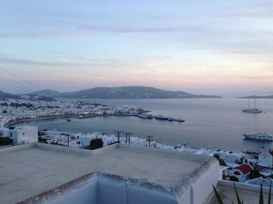Mykonos View Hotel: View from our room