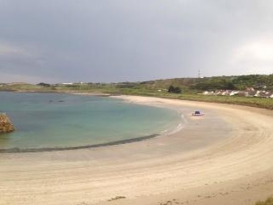 Braye Beach Hotel: The view from my room