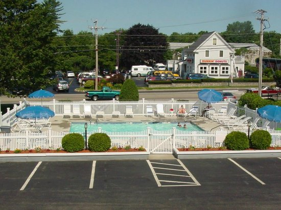 Elmwood Resort Hotel : View of the Pool Area.