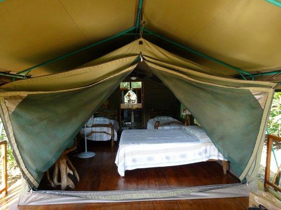 Rafiki Safari Lodge : Sleeping Area