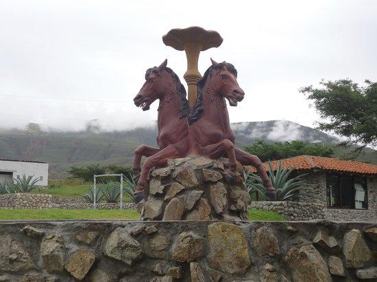 Hosteria Tunas y Cabras: Horses.