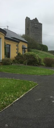 Ballinalacken Castle Country House : The hotel and castle from the car park