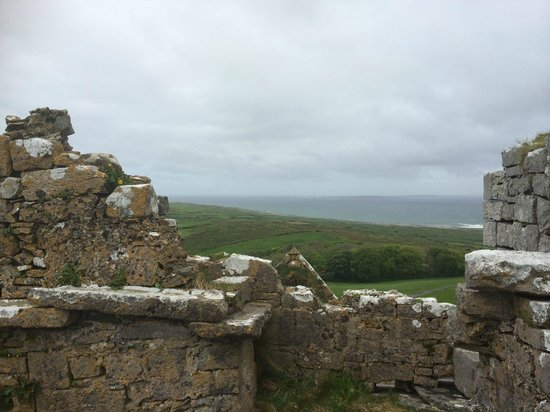 Ballinalacken Castle Country House: From the top of the castle