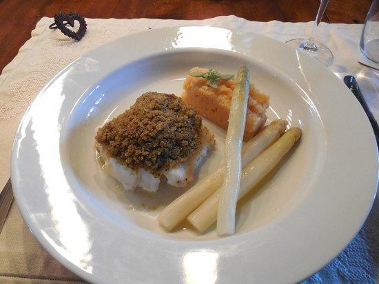 Villa Mas St Jean: Custom-prepared dinner entree
