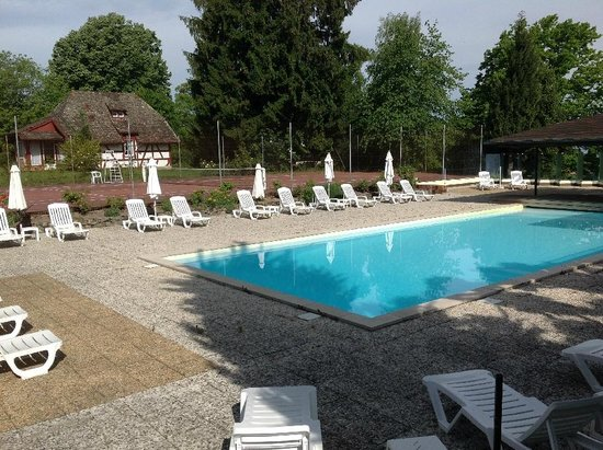 Hotel de la Verniaz et ses Chalets : Pool area