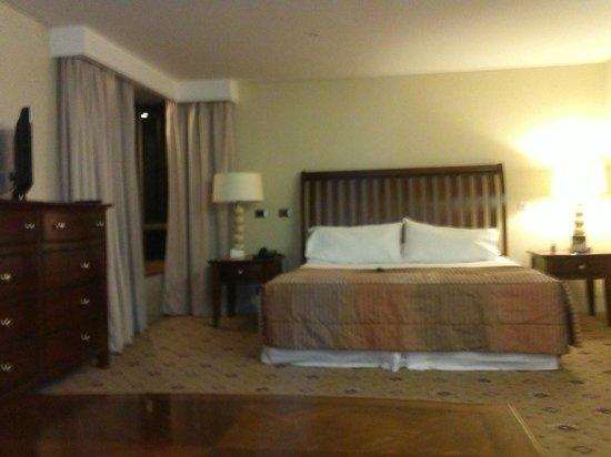 Hotel Torremayor Lyon: Cama queen
