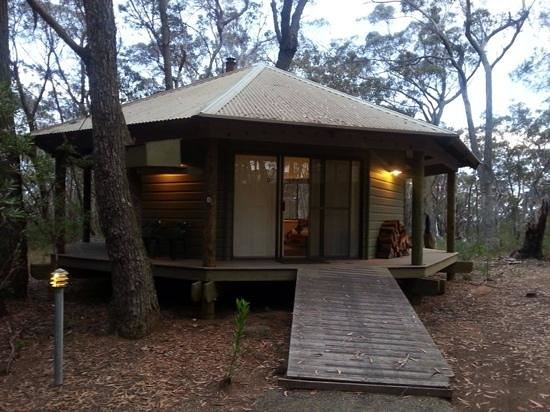 Federation Gardens & Possums Hideaway : Possum Hut No1.....cosy