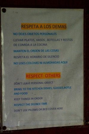 Inca Life Hostel: Note 1