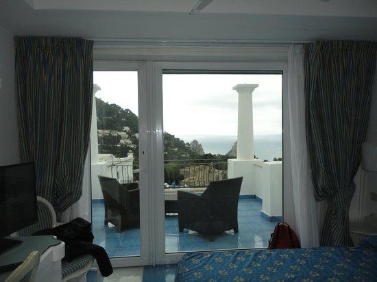 La Residenza Capri : vista al balcon