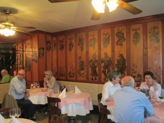 Restaurant Fritschi: larger dining room area