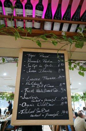 La Terraza: This Weeks Specials