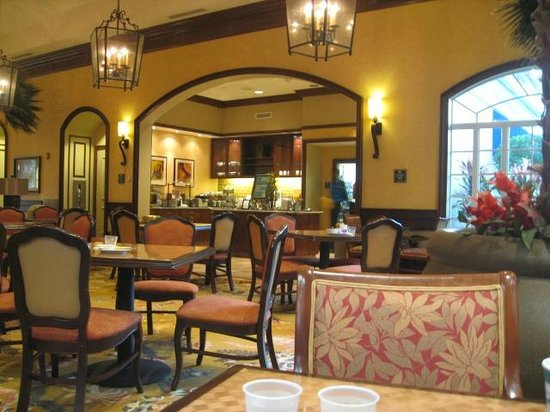 Homewood Suites by Hilton Palm Beach Gardens : breakfast area